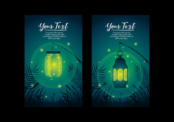 Firefly Template Vector - Free vector #394541