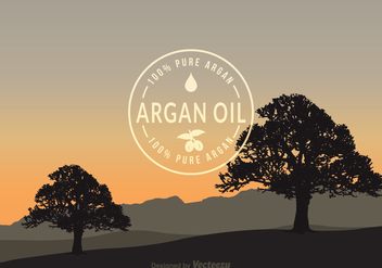 Free Argan Vector Background - бесплатный vector #395411