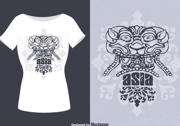 Free Barong Vector T-Shirt Design - Free vector #395421