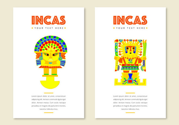 Free Incas Cards - Free vector #395471