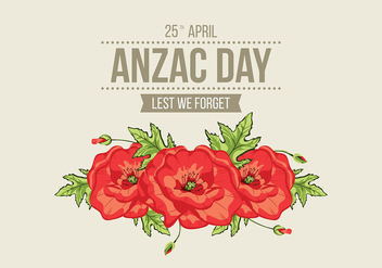 Anzac Day Vector - бесплатный vector #395571