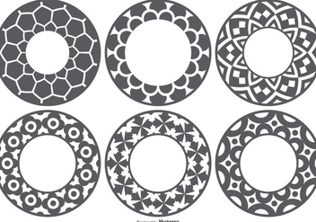 Laser Cut Vector Shapes - vector gratuit #395651