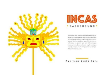 Free Incas Background - vector #395701 gratis