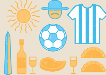 Argentina Icons - Free vector #395981