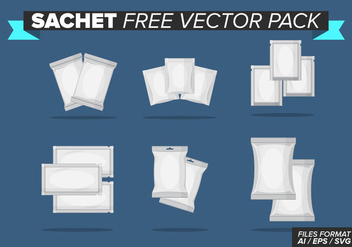 Sachet Free Vector Pack - Free vector #396011