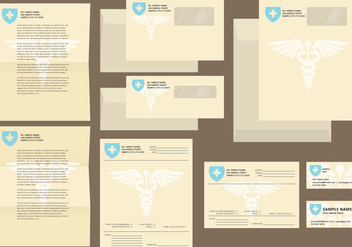Hospital Templates - vector gratuit #396091