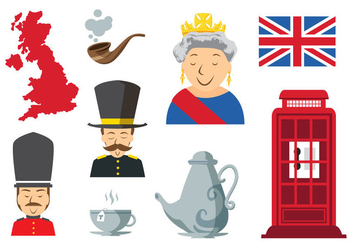 Free England Icons Vector - Free vector #396111