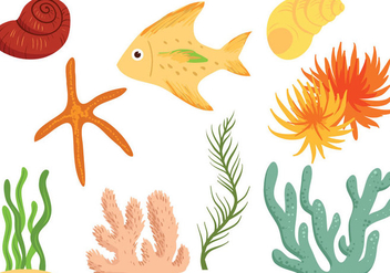Free Seabed Vectors - Free vector #396341