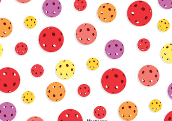 Colorful Floorball Seamless Pattern - vector #396701 gratis