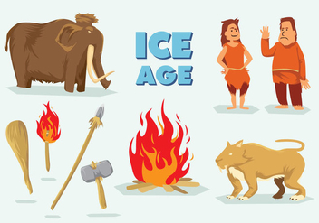 Free Ice Age Vector - Free vector #396891
