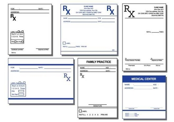 Prescription Pad Vector - Free vector #396951