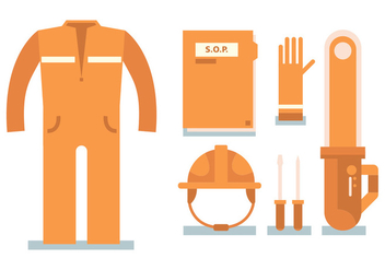 Construction Vector Set - бесплатный vector #397021