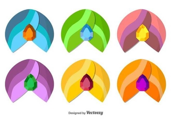 Turban Icon Set - vector gratuit #397051