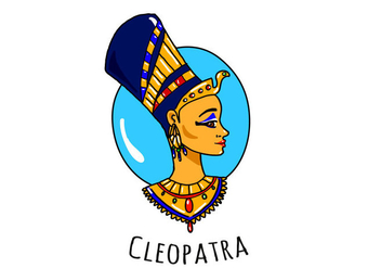 Free Cleopatra Character Vector - Free vector #397121