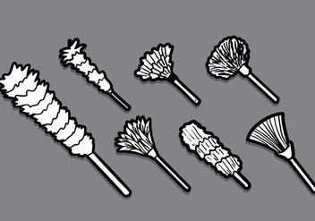 Feather Duster Vector - Free vector #397141