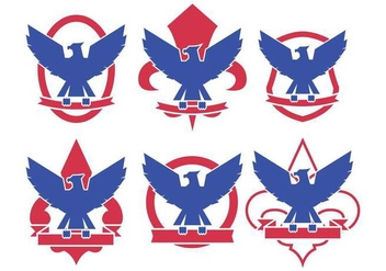 Eagle Scout Logo Vectors - бесплатный vector #397261