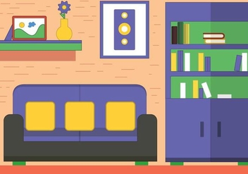 Free Vector Room Design - Free vector #397481