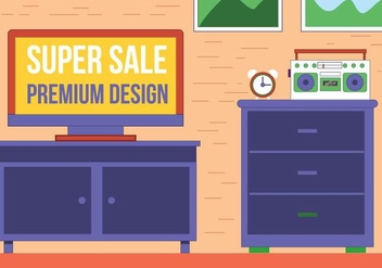 Free Vector Room - Free vector #397501