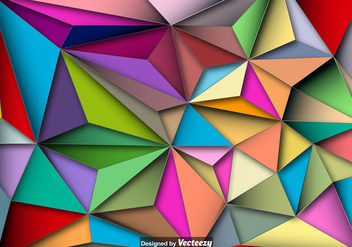 Polygonal Vector Background - бесплатный vector #397511