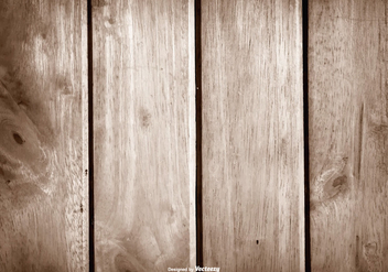 Wooden Vector Background - Free vector #397651