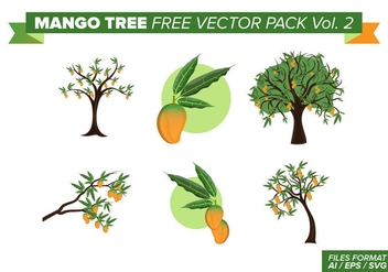 Mango Tree Free Vector Pack Vol. 2 - Kostenloses vector #397661