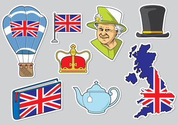 Free Queen Elizabeth Icons Vector - бесплатный vector #398011