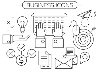 Free Business Icons - vector gratuit #398141