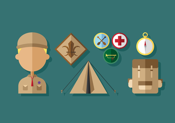 Vector Boy Scouts - Free vector #398461