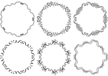 Decorative Vector Frames - Kostenloses vector #398761