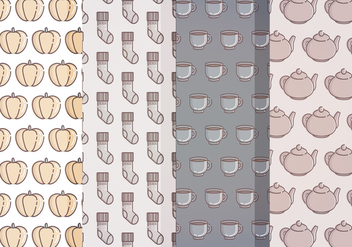 Vector Fall Patterns - Free vector #399281