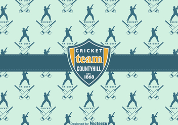 Free Cricket Vector Background - Kostenloses vector #399401