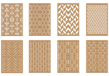 Free Laser Cut Pattern Vector - бесплатный vector #399701