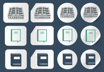 Yearbook Icon vector - Free vector #399821