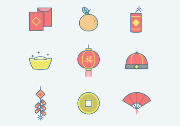 Free Chinese New Year Vector - бесплатный vector #400141