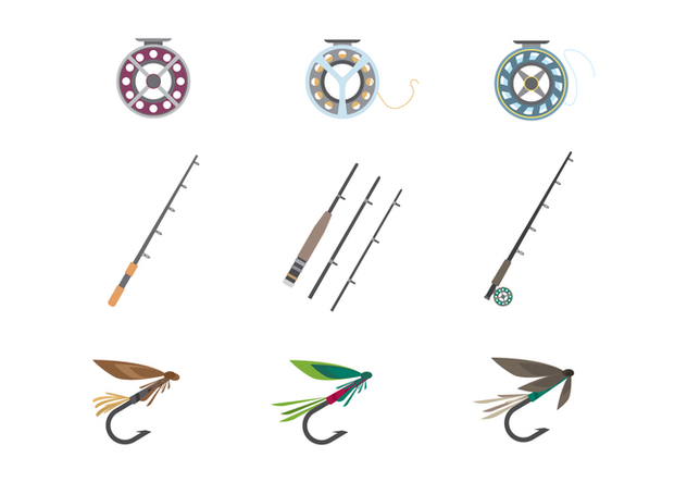 Fly Fishing Tools Vector - vector #400151 gratis