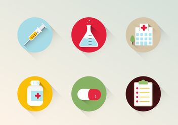 Health Vector Icons - бесплатный vector #400641