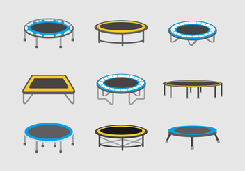 Trampoline vector stock - бесплатный vector #400741