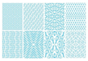 Free Toile Decorative Pattern Vector - Free vector #400901
