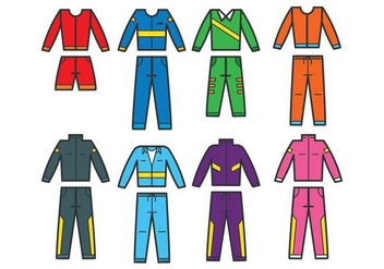 Tracksuit vector - Free vector #401161