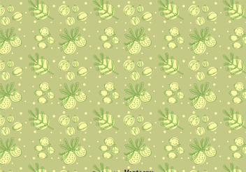 Argan Seamless Pattern - бесплатный vector #401281