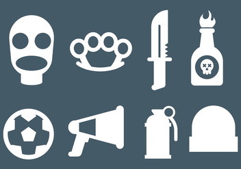 Free Hooligans Icons Vector - Free vector #401311