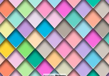 Vector Abstract Colorful Tiles Seamless Pattern - Free vector #401571