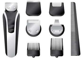 Free Hair Clippers Icons Vector - Free vector #401671