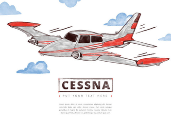 Free Cessna Background - Free vector #401681
