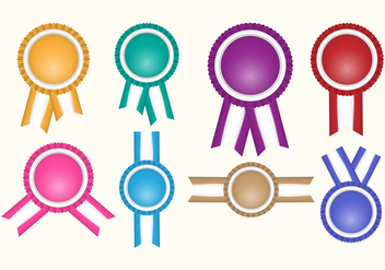 Free Cockade Vector Badges - Kostenloses vector #401801