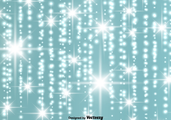 Vector Abstract Glowing Stars Background - Kostenloses vector #401891