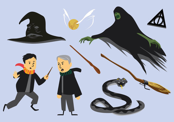 Free Hogwarts Elements Vector - vector #401961 gratis