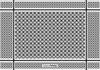 Keffiyeh Vector Pattern Background - бесплатный vector #402101