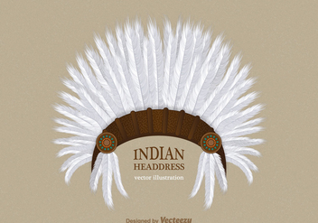 Free Indian Headdress Vector - Kostenloses vector #402211