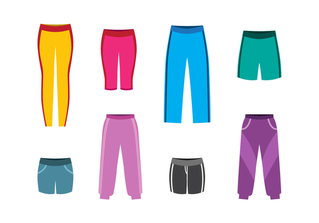 Free Sweatpants Vector - Free vector #402711